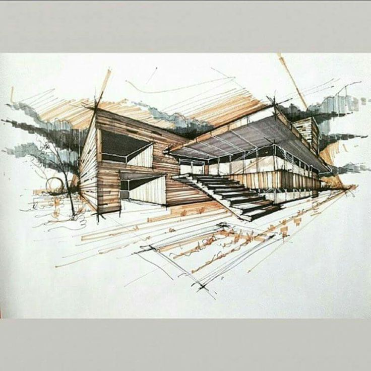 949 best images about skech on pinterest landscape for Architecture sketch