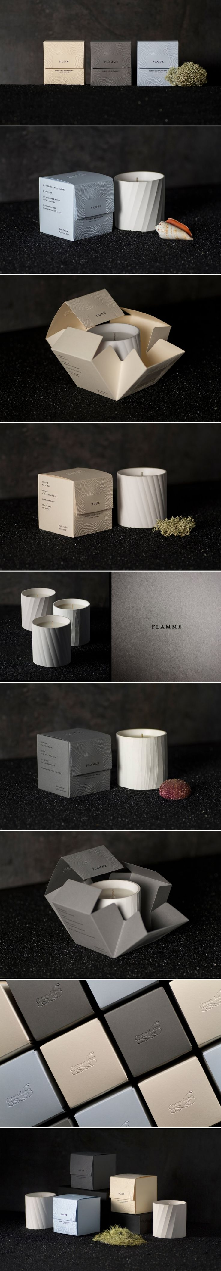 Monsillage Candles Come With Beautifully Textured Packaging — The Dieline | Packaging & Branding Design & Innovation News