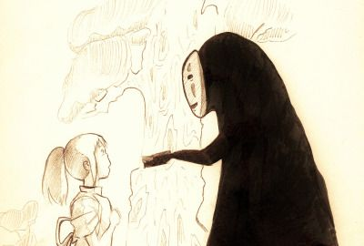 A few more Spirited Away sketches :3