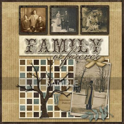 "Family Scrapbook Ideas | Stamp Collection 22 images in 51/ 2"" x 81/ 2"" jewel case scrapbooking ..."