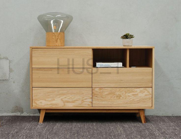 Copenhagen Solid European Oak Wide Chest of Drawers by Bent Design Studio for Huset