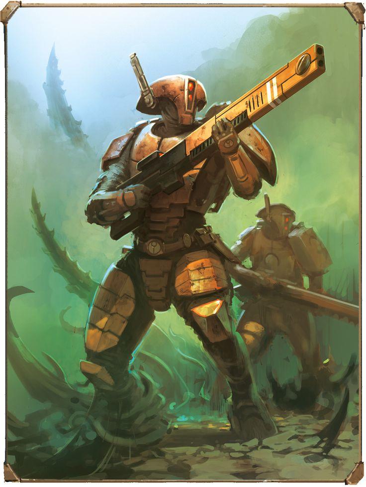 The art of Warhammer 40.000