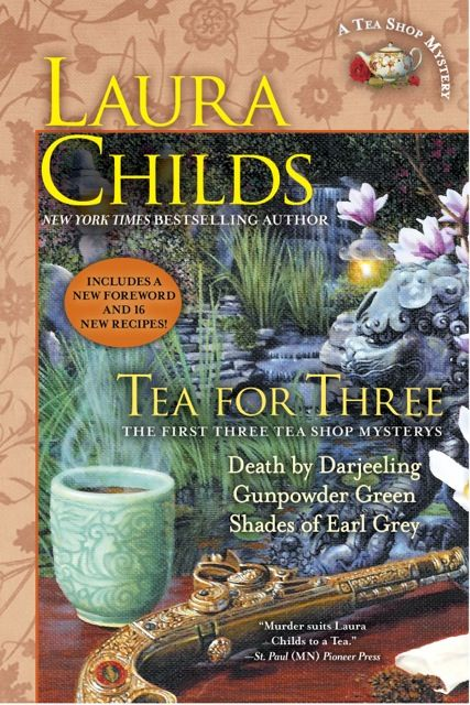 I got hooked with the first scrapbooking trilogy. Now, here are three novels with a tea/murder theme from Laura Childs. Be aware you'll fall-in-love with all of the characters in her novels!