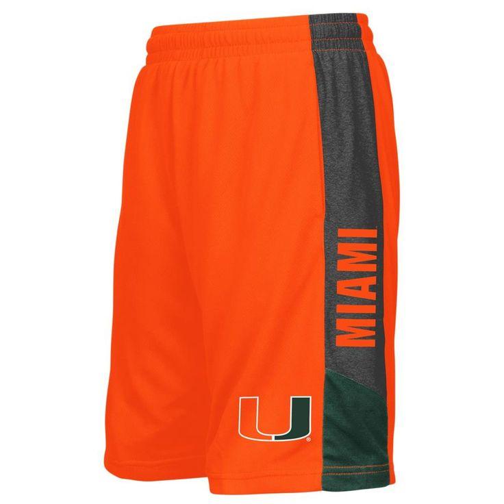 University of Miami Hurricanes Youth Shorts Athletic Basketball Short