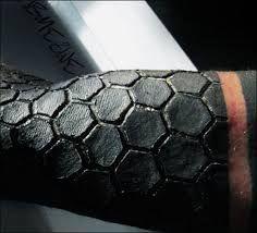 Αποτέλεσμα εικόνας για honeycomb tattoos