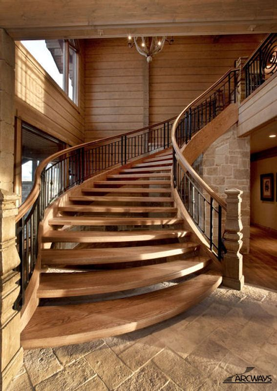 best 25 curved staircase ideas on pinterest foyer. Black Bedroom Furniture Sets. Home Design Ideas