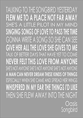 Oasis - Songbird #Lyrics
