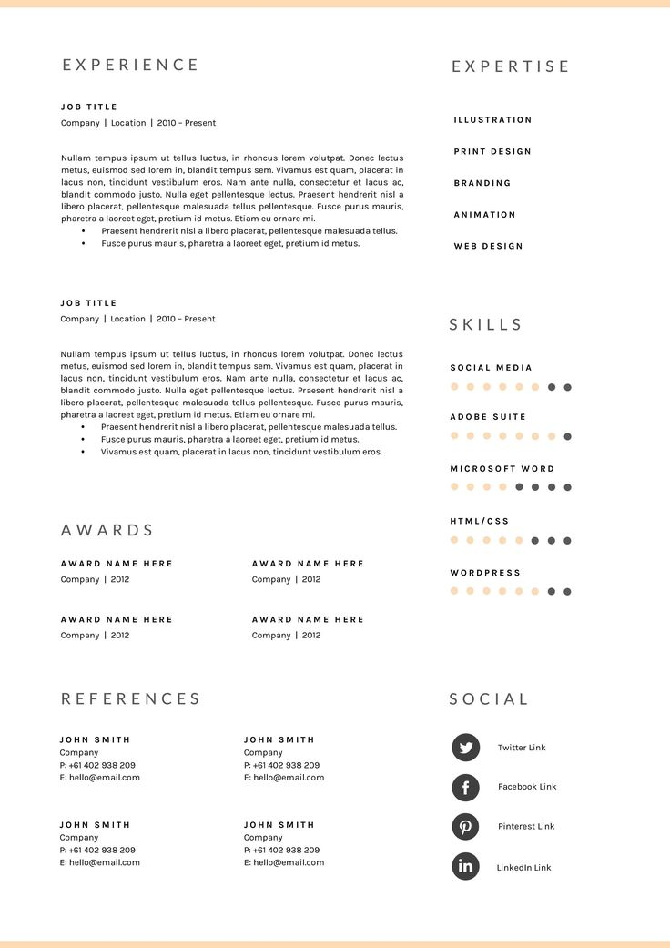 40+ Professional resume template docx Resume Examples