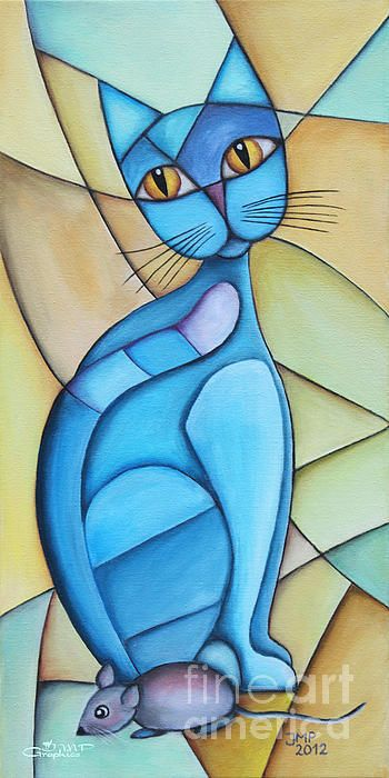 Cat And Mouse - Jutta Maria Pusl