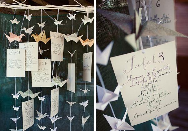 paper crane theme