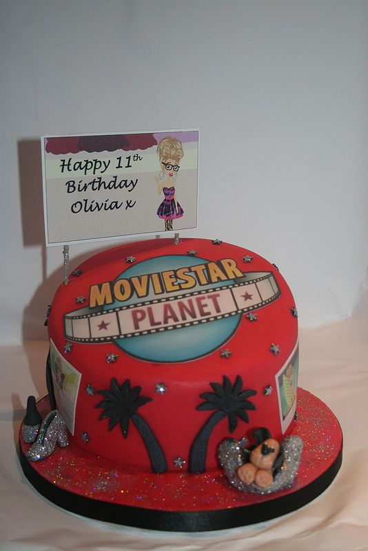 #moviestarplanet lovely birthday cake, ideal for birthday parties for #MSP fans!