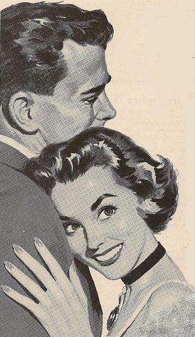 The Happy Couple ~ ca. 1950s