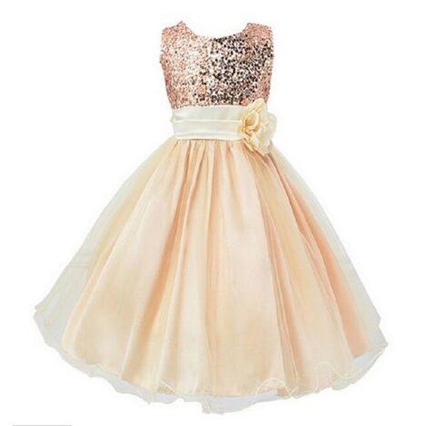 Wish | Fleur Robe pour fille Princesse Fête de mariage Costume pour enfants Vêtements pour bébés Vêtements pour enfants Vêtements pour enfants