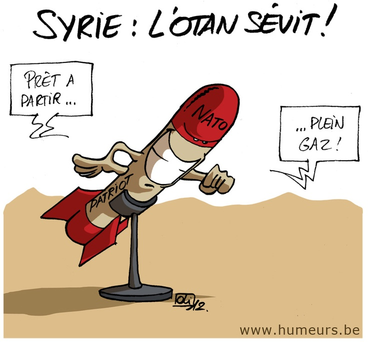 Syrie : l'OTAN craint l'usage de gaz !