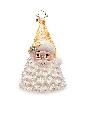 Christopher Radko Frosty Kris Kringle Glass Ornament