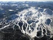 Snowboarding on Mammouth Mountain