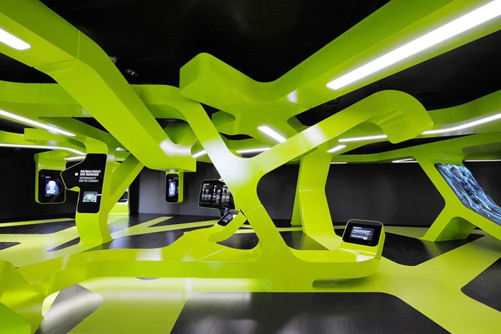 LEVEL GREEN by J MAYER H Wolfsburg