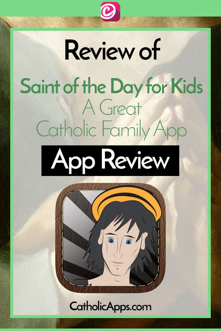 CatholicApps.com Reviews the Saint of the Day for Kids App. It's a great family app, that gives you depth into the lives of Saints. The descriptions are really easy to understand and it is well worth it for a paid app.