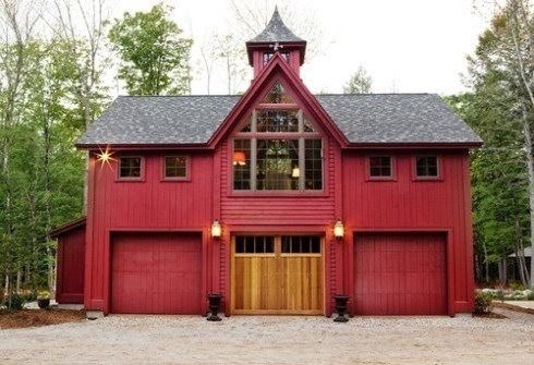 I thought this was Garage/Barn/Outbuilding that anyone would be pleased to own. I've never been a fan of attached garages. What about you? ...