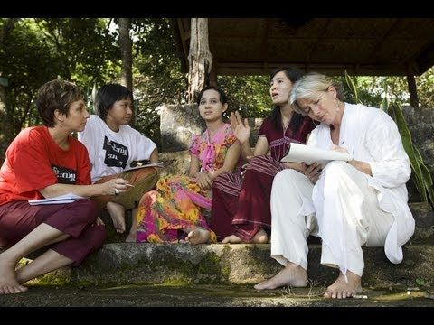 Video of Emma Thompson in Burma/Myanmar.