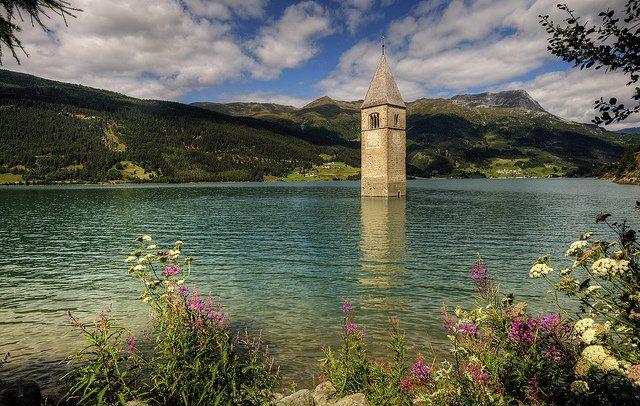 Lago di Resia/ İTALY