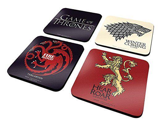 Game of Thrones Set sottobicchieri #LaSoffittaDelPirata #gameofthrones #iltronodispade #