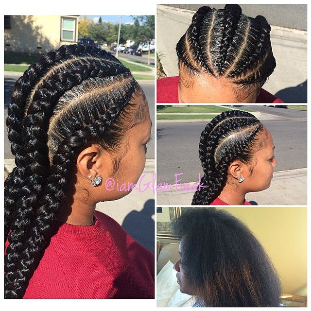 Protective Natural Hair Styles On Instagram By Iamglamfreak Protectivestyles Natural Hair Styles Protective Hairstyles For Natural Hair Hair Styles
