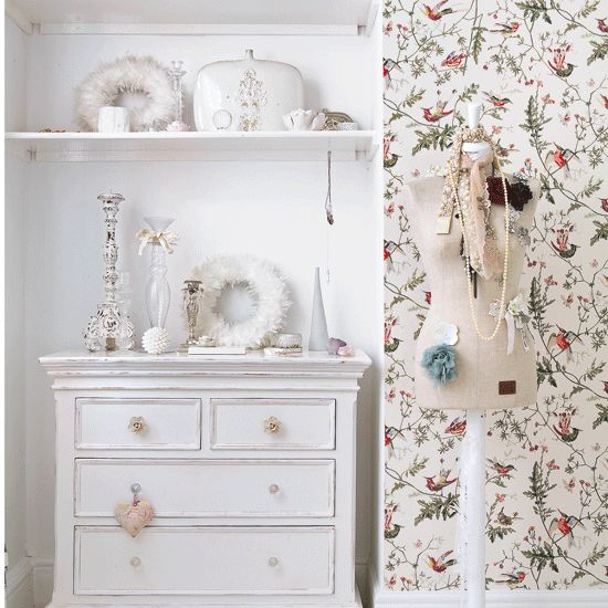 Girly dressing area | Bedrooms | Decorating ideas | Image | Housetohome