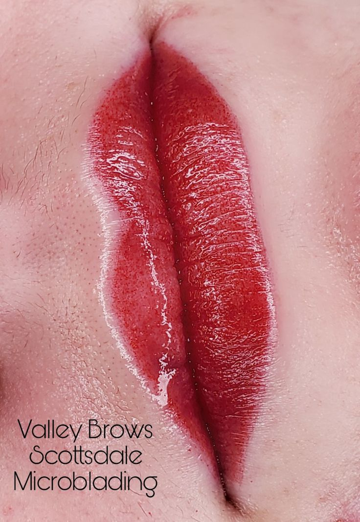 Pin By Valley Brows Scottsdale Microb On Aquarelle Lip Blush In
