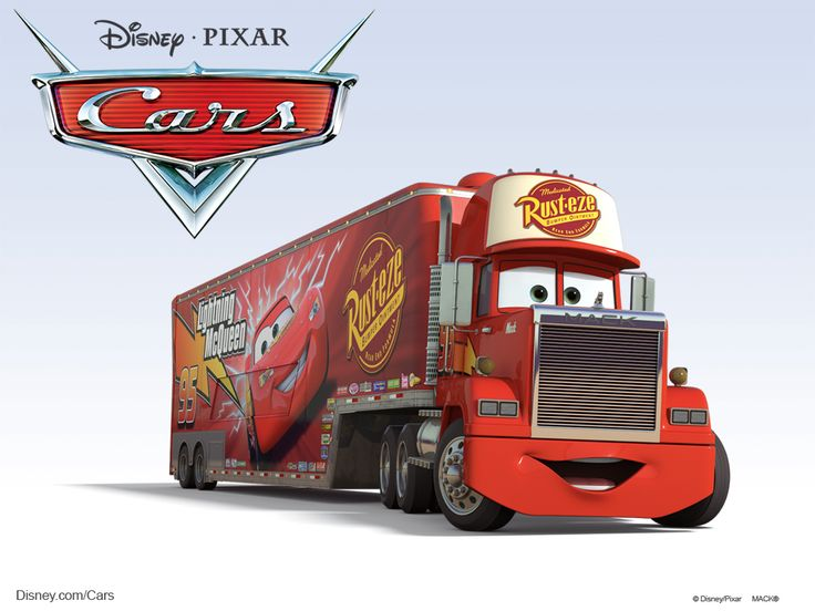 Disney/Pixar Cars Characters: Mack (1985 Mack Super-Liner)