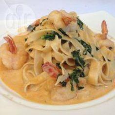 Receta de Pasta con camarones al chipotle - Recetas de Allrecipes