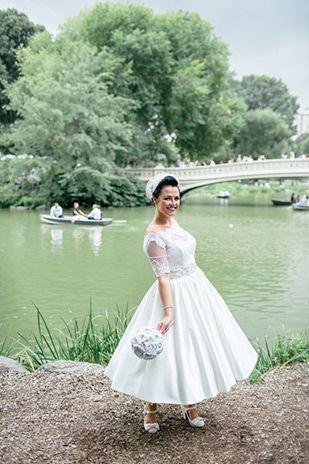 Carousels Cupcakes Meg Andy S New York Elopement Wedding Dresses Pinterest