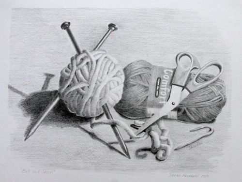 how to draw still life with pencil step by step