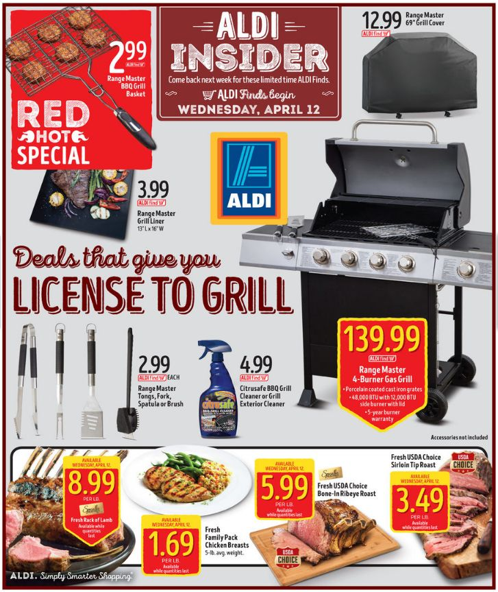 Aldi In Store Ad April 12, 2017 - http://www.olcatalog.com/grocery/aldi-weekly-ad.html