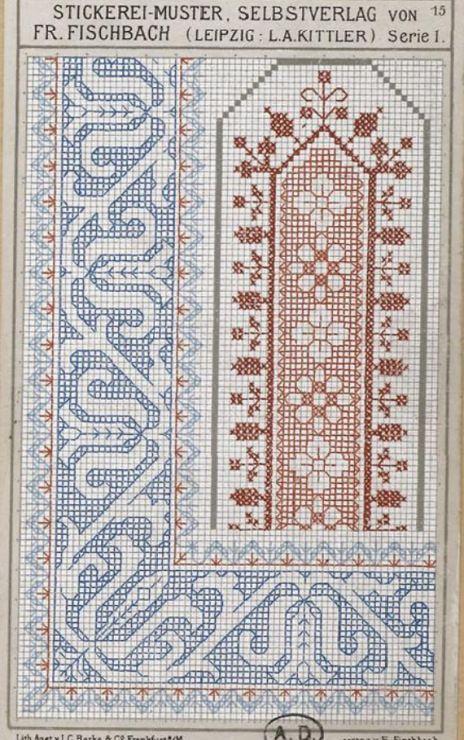 Gallery.ru / Фото #107 - старинные ковры и схемы для вышивки - SvetlanN
