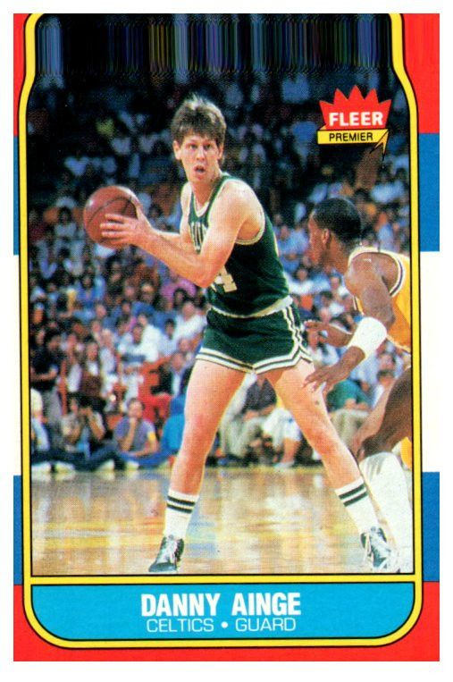 1986 Fleer Danny Ainge Rookie Card Boston Celtics