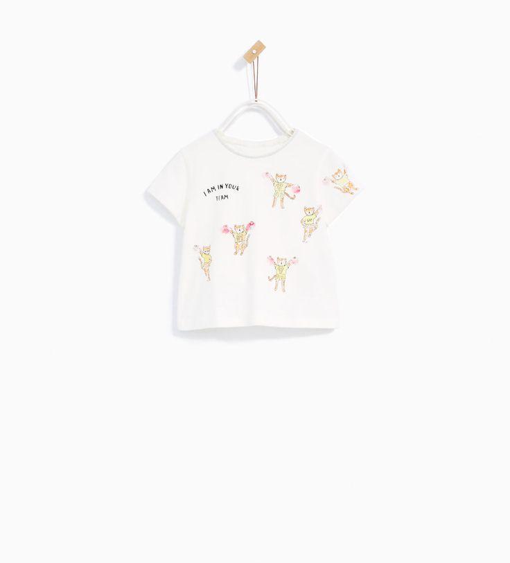 Imagem 1 de T-SHIRT ANIMADORAS da Zara