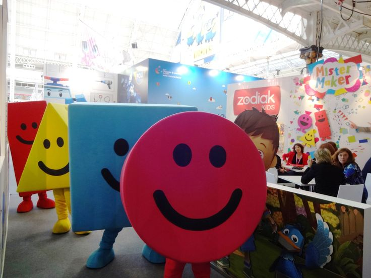 Mr Maker Shapes Mascot Costume Characters Brand