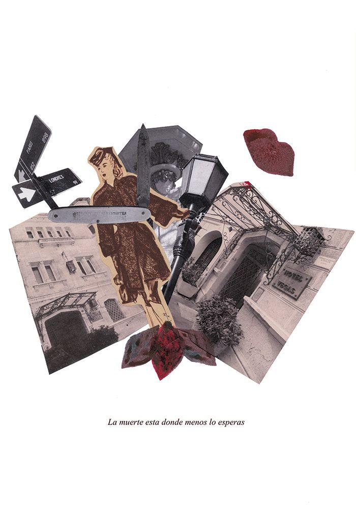 """Collage """"Barrio París y Londres"""". Miriam Guillermo."""