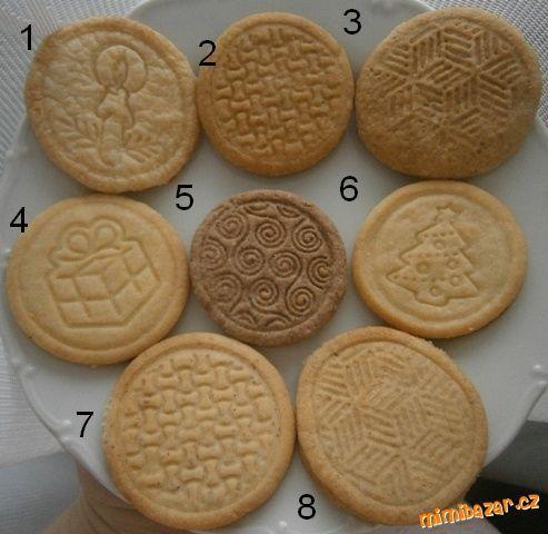 CITRONOVÉ SUŠENKY č.1 - 280 g hladké mouky, 180 g cukru moučka, 120 g másla, 2 žloutky, 2 lžíce citr...