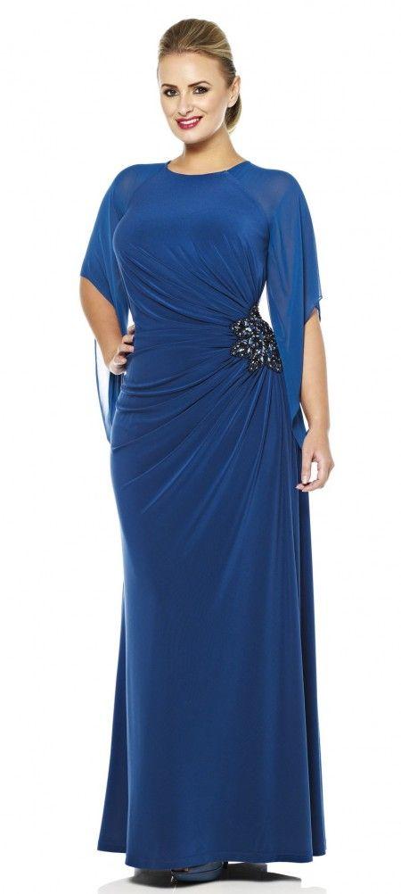 Plus Size evening gowns | Plus size jersey evening dress Evening Dress