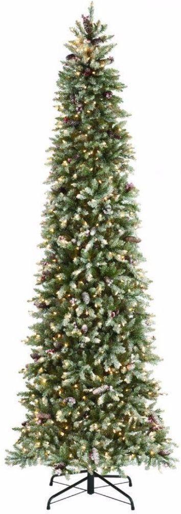 Pre-Lit Fir Pencil Slim Artificial Christmas Tree with Clear Lights Home Decor  #PreLit #SlimTree #Slim #ArtificialTree #Artificial #ArtificialChristmasTree #ChristmasTreeDecor #TreeDecor #Decor #Christmas #ChristmasDecor #HomeDecor #ClearLights