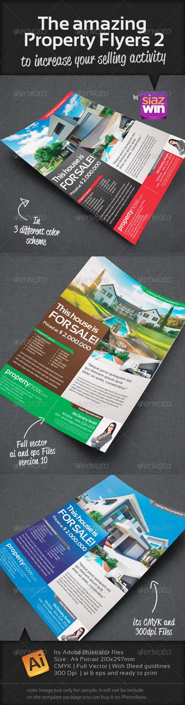 1000 images about print templates adobe photoshop the amazing property flyers 2