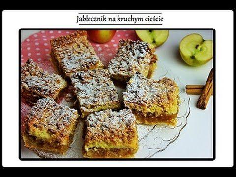 Jabłecznik na kruchym cieście | ciasnakuchnia.com
