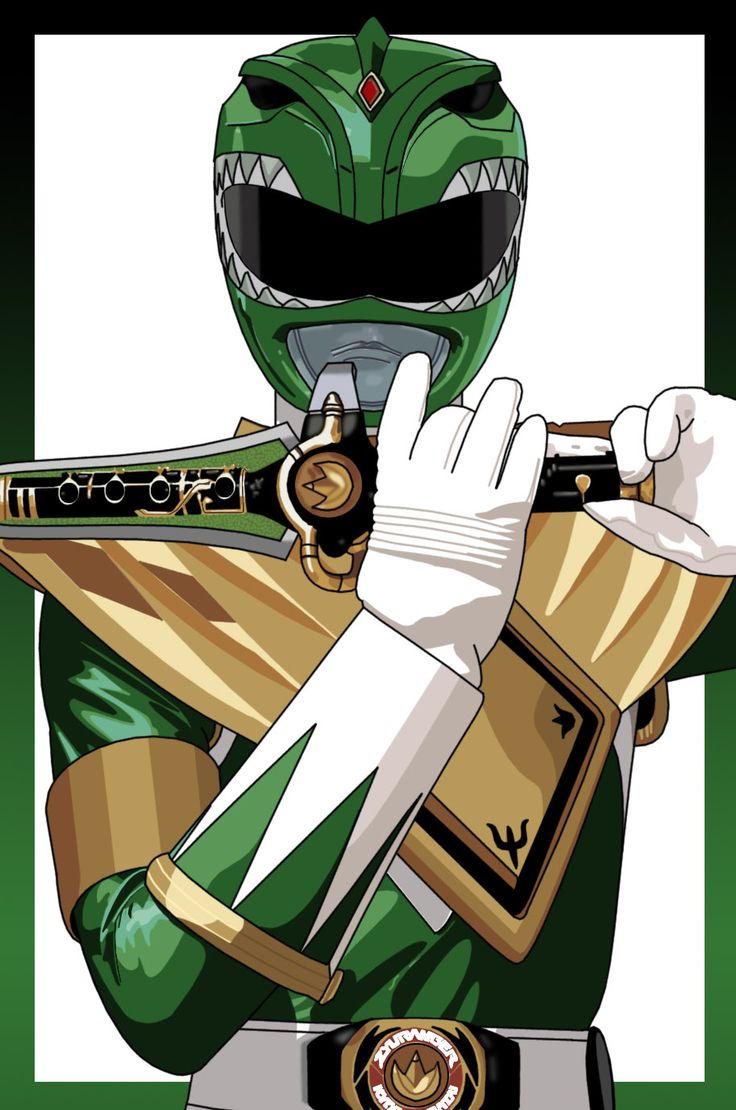 Green Ranger illustration