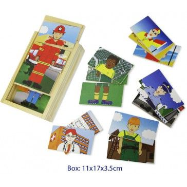 Fun Factory Dress Up Puzzle - 6 Occupations