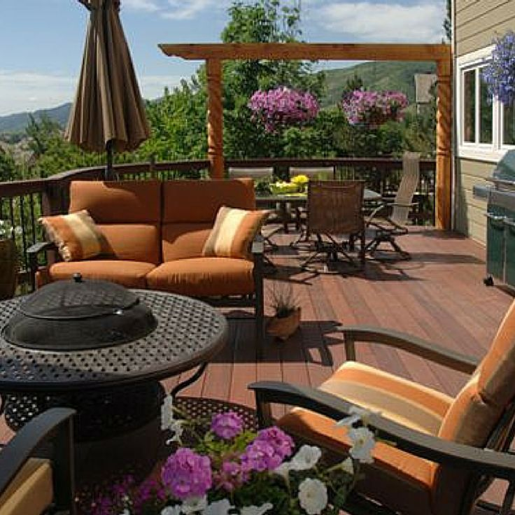 Beautifully customize your low-maintenance deck and make it truly, one-of-a-kind.  Tips from the Fiberon blog.