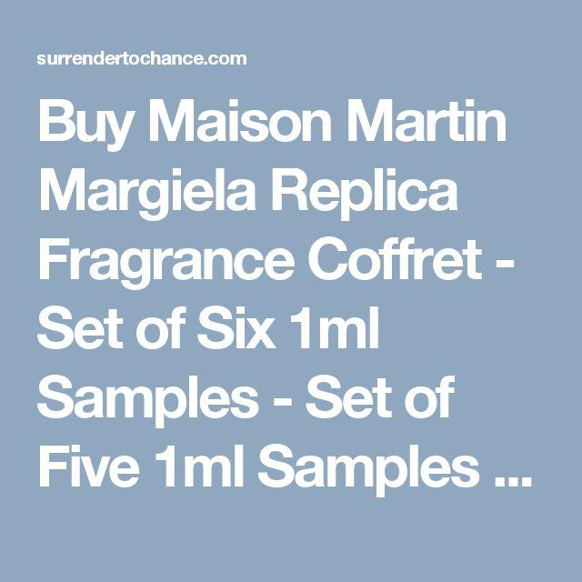Buy Maison Martin Margiela Replica Fragrance Coffret - Set of Six 1ml Samples - Set of Five 1ml Samples - Perfume Samples