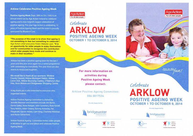 Celebrate Arklow positive ageing week