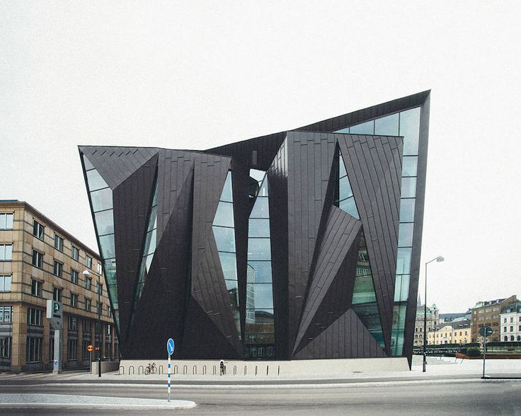 Geometric Maritime University in Malmö – Fubiz Media